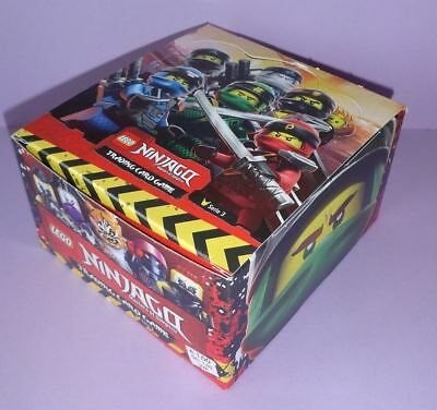 1 DISPLAY LEGO NINJAGO Trading Card Game, Serie 3 = 50 BOOSTER