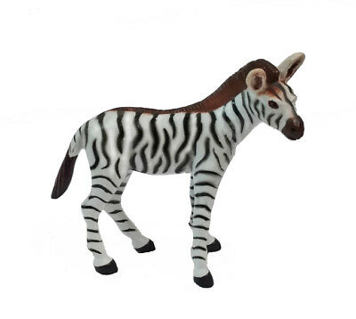 AAA 96524 Zebra Foal Baby Animal Toy Replica Model - NIP