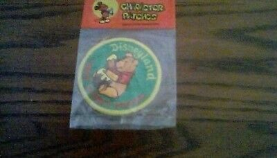 Vintage Winnie the Pooh Character patch in original packaging