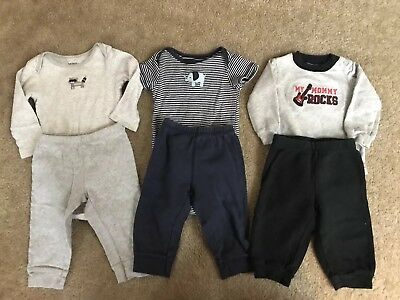 Lot Of 3 Baby Boys 6-9 Month Carter's Outfits