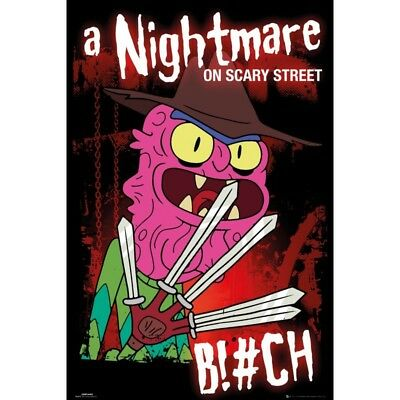 GB eye Ltd Rick and Morty, Scary Terry, Maxi Poster 61x91.5cm, Various
