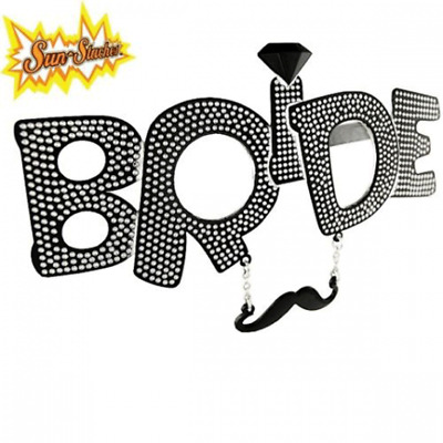 Sun-Staches The Bride Toys Sunglasses SG1949 Party Costumes