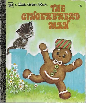 The Gingerbread man. Excellent Condition. Little Golden Book.
