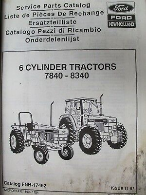 NEW HOLLAND 3010S 3 Cylinder Tractor Parts Manual - $106 25