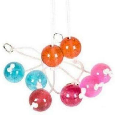 1 Clackers Balls On A String The Original Pendulum Ball Toy! Game Gift Kids Toy