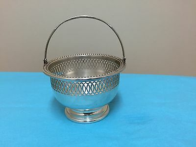 Sterling Silver Dish With Handle By Wallace