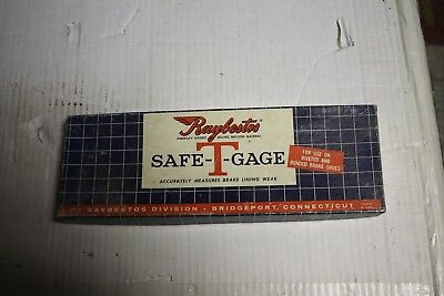 Raybestos Safe T Gage Sg498  Brand New Condition