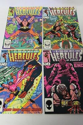 Hercules Prince of Power #1 #2 #3 #4 Marvel Comics Comic Complete Set Run VF