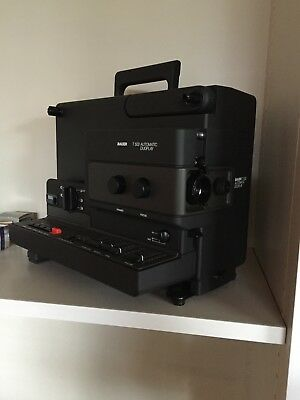 Bauer Filmprojektor, Super 8, Modell T502 Automatic Duoplay
