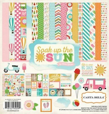 "CARTA BELLA Soak Up the Sun - 12x12 Collection Kit*12""x12"" Scrapbook Paper Paper"