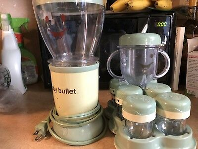 baby bullet food system