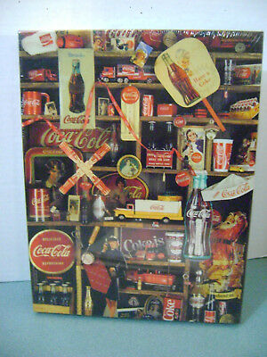 "Coca Cola ""Coke Is It"" 500 Piece Jigsaw Puzzle Sealed Springbok 1986"