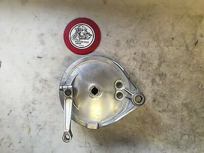 1982 Honda Vf750 A Magna Rear Brake Plate & Shoes Oem