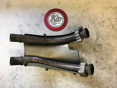 1982 Honda Vf750 A Magna Rear Cylinders Exhaust Manifold Oem