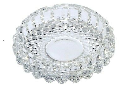 Glass ASHTRAY Smoking Tray Ash Bin Cigarettes Tobacco