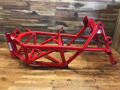 Ducati Hypermotard 1100 Australian Compliant Repairable Write-Off Frame Straight