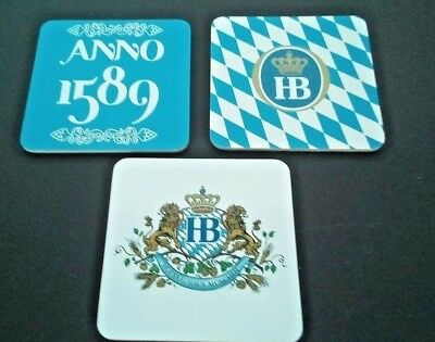 German Beer Coasters Hofbrauhaus Munich Germany Set of 12 New