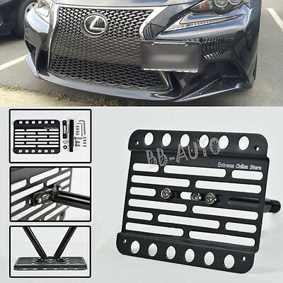 EOS Plate For 06-11 Lexus GS Series NO PDC Front Tow Hook License Mount Bracket