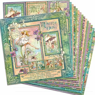 "GRAPHIC 45 Fairie Dust 12x12 Paper Pack (16 sheets)*12""x12"" Scrapbook Paper Pape"