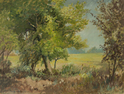 George R. Waterfield - Early 20th Century Oil, Rural Landscape