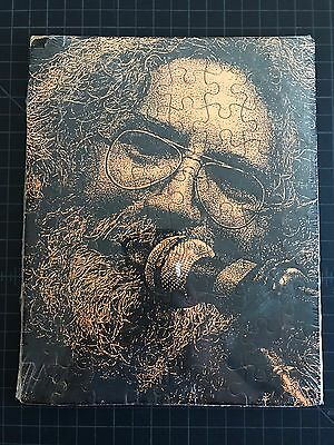 VTG 1980's SEALED Grateful Dead Jerry Garcia Portrait Jigsaw Puzzle