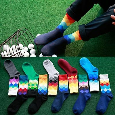 Men Women Unisex Cotton Socks Multi-Color Casual Fashion Dress Print Funny Socks