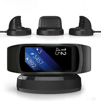 USB Charging Charger Cradle Dock for Samsung Gear Fit 2 SM - R360 Smartwatch BD1