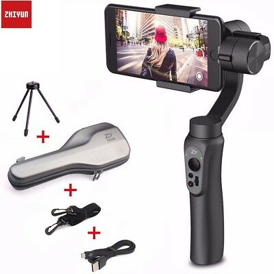 AU Zhiyun Smooth-Q 3-Axis Handheld Gimbal Stabilizer for Smartphone IPhone LG