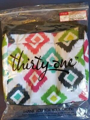 Thirty-one Going Places Thermal Candy Corners Lunch Food Bag NEW