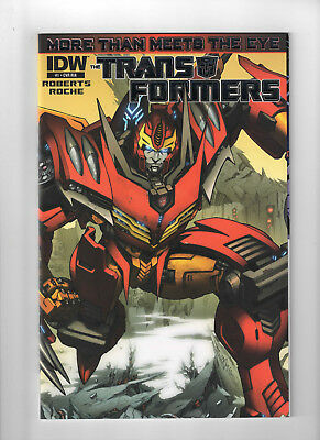 Transformers More than Meets the Eye #1 Wraparound 1:10 Variant NM+ IDW 2012