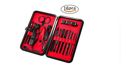 GROOMING SUPPLIES EVERYDAY Tool Manscaper Travel Nail Kit For Men ...