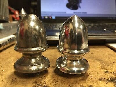 Aluminum Antique Safe Finial Hinge Decoration Set of 4 With Standard Threads.