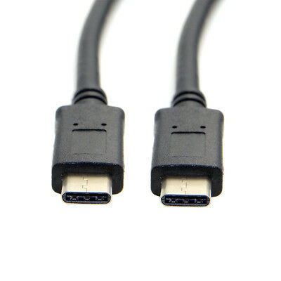 10Gbps Reversible USB 3.1 Type-C Male to USB-C Male Data Cable for Tablet 2m