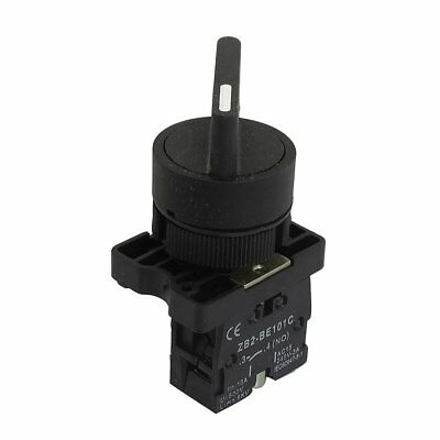 22mm Latching 1 NO Long Handle 2-Position Rotary Selector Switch ZB2-EJ21