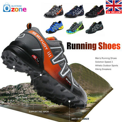Men's Running Shoes Folomon Speed 3 Athletic Outdoor Sports Hiking Sneakers
