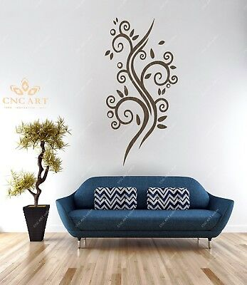 Wall decoration DXF CDR and EPS File For CNC Plasma, Router (W3)