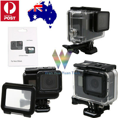 Underwater Waterproof Housing Case Protecting Cover Shell For GoPro Hero 6 5