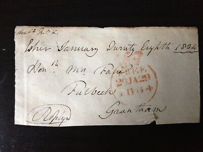 2nd EARL ROSSLYN - DISTINGUISHED ARMY OFFICER & MP - SIGNED ENVELOPE FRONT