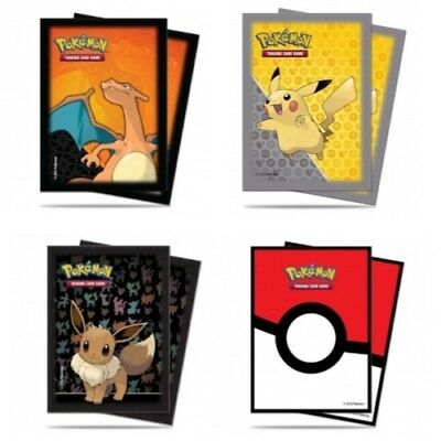 Ultra Pro Deck Protectors (65) Pokemon Trading Card Sleeves - Choose