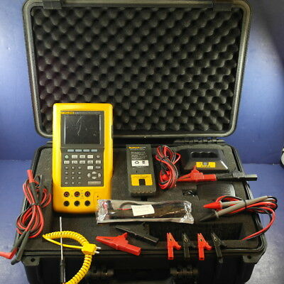 Fluke 741b DPC Documenting Process Calibrator, Good Condition, Hard Case