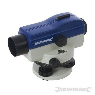 Silverline 20X Magnification Automatic Optical Level Building Diy Tool 633665