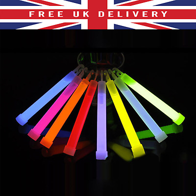 "6"" (6 Inch) Glow Stick 15mm (1 Piece) Premium Quality Individually Wrapped UK"