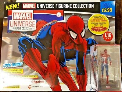 New 2018 = Marvel Universe Figurine Collection = The Amazing Spiderman = # 1