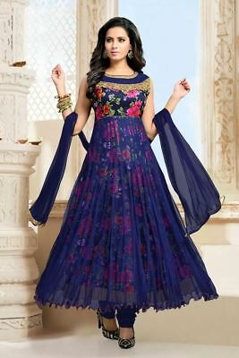 Indian Anarkali Salwar  Suit Duppata Partydress Ethnic Pakistani Bollywood
