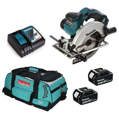 Makita DSS611 DSS611Z 18V Cordless Circular Saw 2 BL1840 BATTERY + DC18RC LXT400