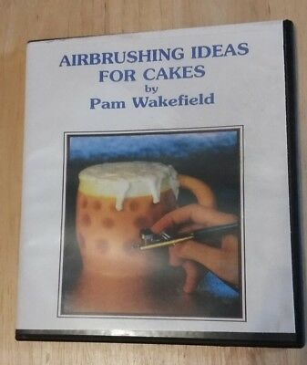 Airbrushing Ideas For Cakes CD by Pam Wakefield