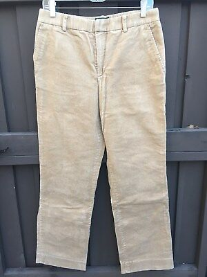 LAUREN by Ralph Lauren Women's Sz 8 Medium Whale Corduroy Pants Camel WARM
