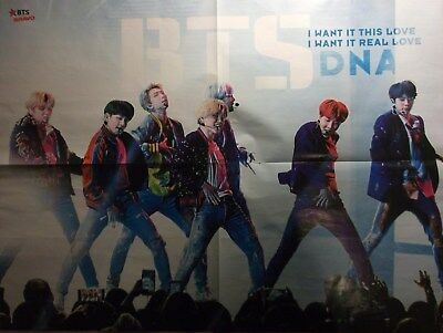 1 GERMAN POSTER BANGTAN BOYS BTS N  SHIRTLESS BOY BAND BOYS