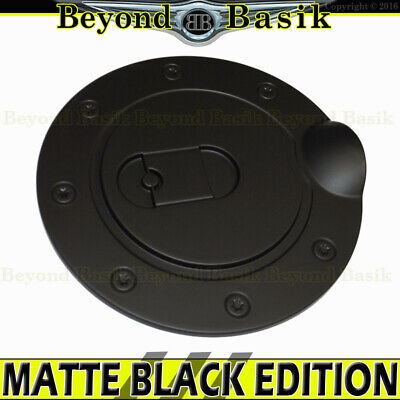 2015 2016 2017 2018 FORD F150 F-150 MATTE BLACK Fuel Gas Door Cover Cap Overlay