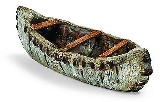 My Fairy Gardens Mini - Birch Bark Canoe - Supplies Accessories
